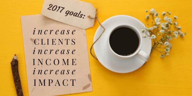 Business growth goals 2017