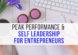 entrepreneur business performance and leadership