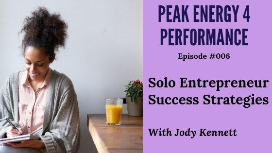 Solo entrepreneur business success