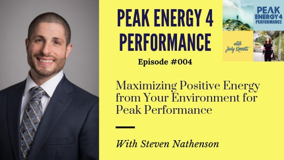 How to create a positive energy from your environment